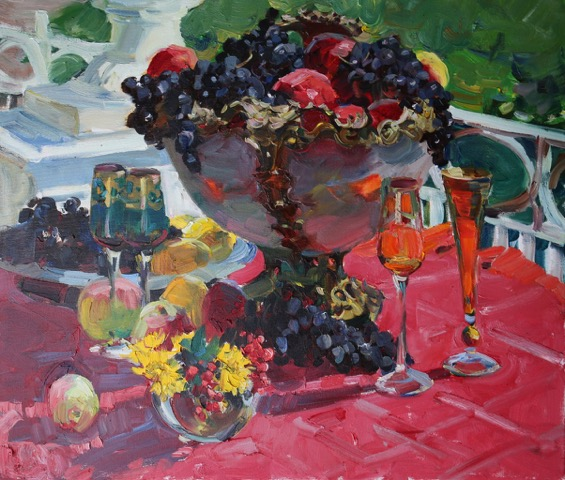 Alexandra Yagodkina - Nature-morte au fruit