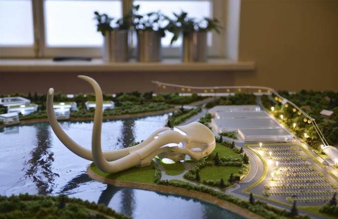 Mammouth, projet de bâtiment, Dashi Namdakov