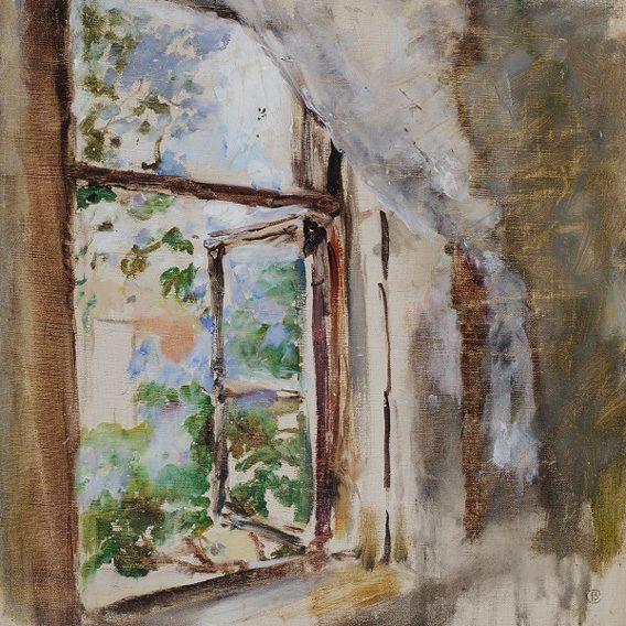 """""""Fenêtre"""", Valentin Serov, 1887 Musée de l'Impressionnisme de Moscou"""