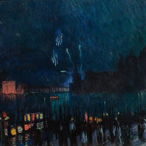 """""""Venise"""", Boris Koustodiev, 1913, Musée de l'Impressionnisme Moscou"""